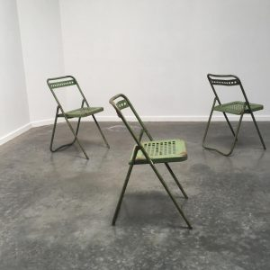 25 x Industrial Folding Chairs