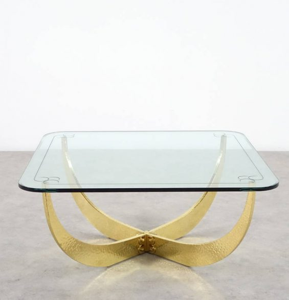 hollywood-regency-extraordinary-solid-brass-art-work-coffee-table-from-1960-3