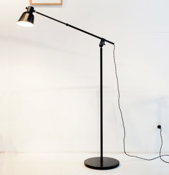 "Uncommon standfloor lamp version of the ""acrobat"" model from BuR"